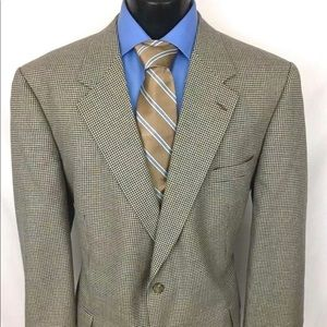 Brooks Brothers 1818 Sport Coat Houndstooth  44L